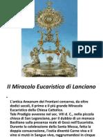 II Miracolo Eucaristico di Lanciano.pptx