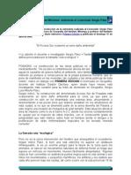 Daños ambientales en Misiones-Entrevista al Lic. Sergio Páez