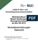 Modulhandbuch Master Bi Aktualisierung 04-06-2012