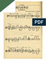 For Guitar solo (Tárrega) Träumerei (No.7)-Kinderszenen, Op.15 (Schumann, Robert)