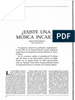 DHarcourt - Marguerite Béclard - ¿Existe una música incaica [Conservatorio -- No. 2 (Dic. 1989)]