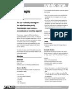 2 Week Sample Menu PDF