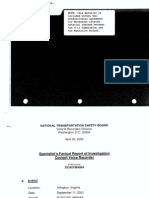 T8 B18 NTSB Documents 1 of 3 Fdr- CVR- Cockpit Voice Recorder Reports- AA 77 and UA 93 (Paperclipped Together)260