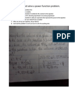 how to calculous poster