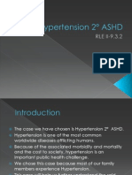 Hypertension 2° ASHD