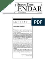 Letters Cathleen Ohanesian