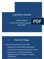 Robert Gleason - GFWAR - Legislative Update