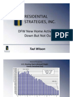 Wilson - Residential Strategies - DFW New Home Activity