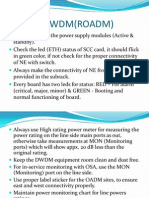 DO & DONTS DWDM