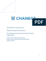 Channect Project Quant Survey Sample