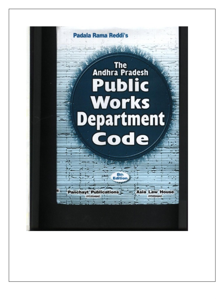 Andhra Pradesh D Code1 | Government Procurement In The