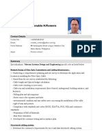 Telecom Design Engineer - Ronaldo_Romero