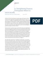 Improving Lives, Strengthening Finances