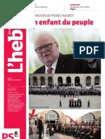 L'hebdo des socialistes n°701 - Disparition de Pierre Mauroy
