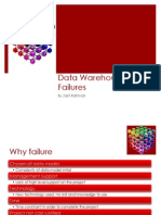 Data Warehouse Failures