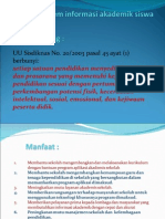 Proposal Sistem Informasi Akademik Siswa