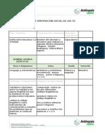agenda didactica de lenguaje 1°