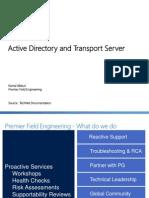 Hub Transport Server