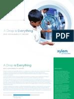 Xylem Sustainability Report 2012