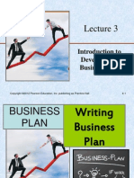 L3 - Introduction to Developing a Business Plan