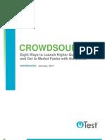 uTest Whitepaper 8 Essentials Crowdsourcing