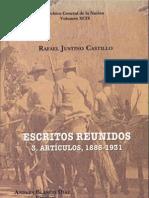 Rafael Justino Castillo - Artículos 1888-1931