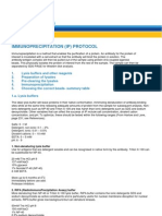 Immunoprecipitation Protocol (IP)