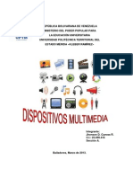 Dispositivos Multimedia