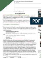 Gás Natural_ PROJETO- PASSO A PASSO DA CONSTRUÇÃO DO BIODIGESTOR