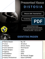 Pres Case DISTOSIA