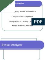 901440 Syntax Analyzer2