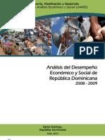 Analisis Economico Social 2008 2009