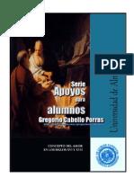 CONCEPTO DEL AMOR EN LOS SIGLOS XVI Y XVII.