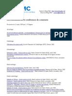 Recommandations Et Consensus 2009