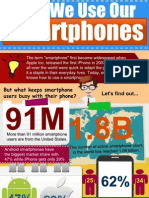 How We Use Our Smartphones