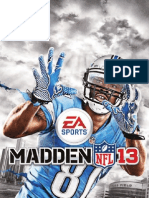 Madden13 Manual Ps3