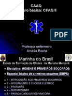 1 - INTRODUÇÃO AOS PRIMEIROS SOCORROS