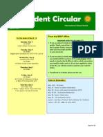 Student Circular April 30