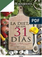 Dieta de Los 31 Dias