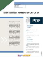 Enumeradores e Iteradores en C Sharp 1.0 y C Sharp 2.0 (dNM 7)