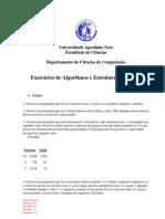 Exercicios de Estutura de Dados - 1