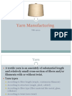 Yarn Manufacturing 1