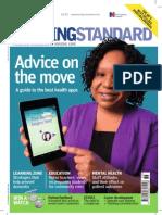 Nursing Standard May 2013 Cover