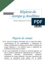 4- Higiene de campo y Analítico