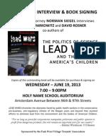 Final PDF Lead Wars Flyer 6-8-13