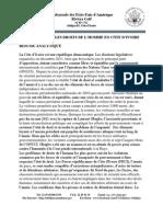 Rapport 2012 Sur Les Droits de Lhomme en Cote Divoire
