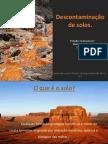 Descontaminação dos solos