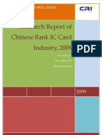 Research Report of Chinese Bank IC Card Industry, 2009