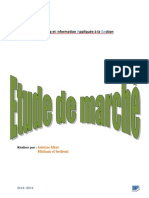 etude de marché