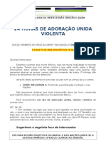 24 HORAS DE ADORAÇÃO UNIDA VIOLENTA